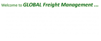 Welcome to Global Freight Management